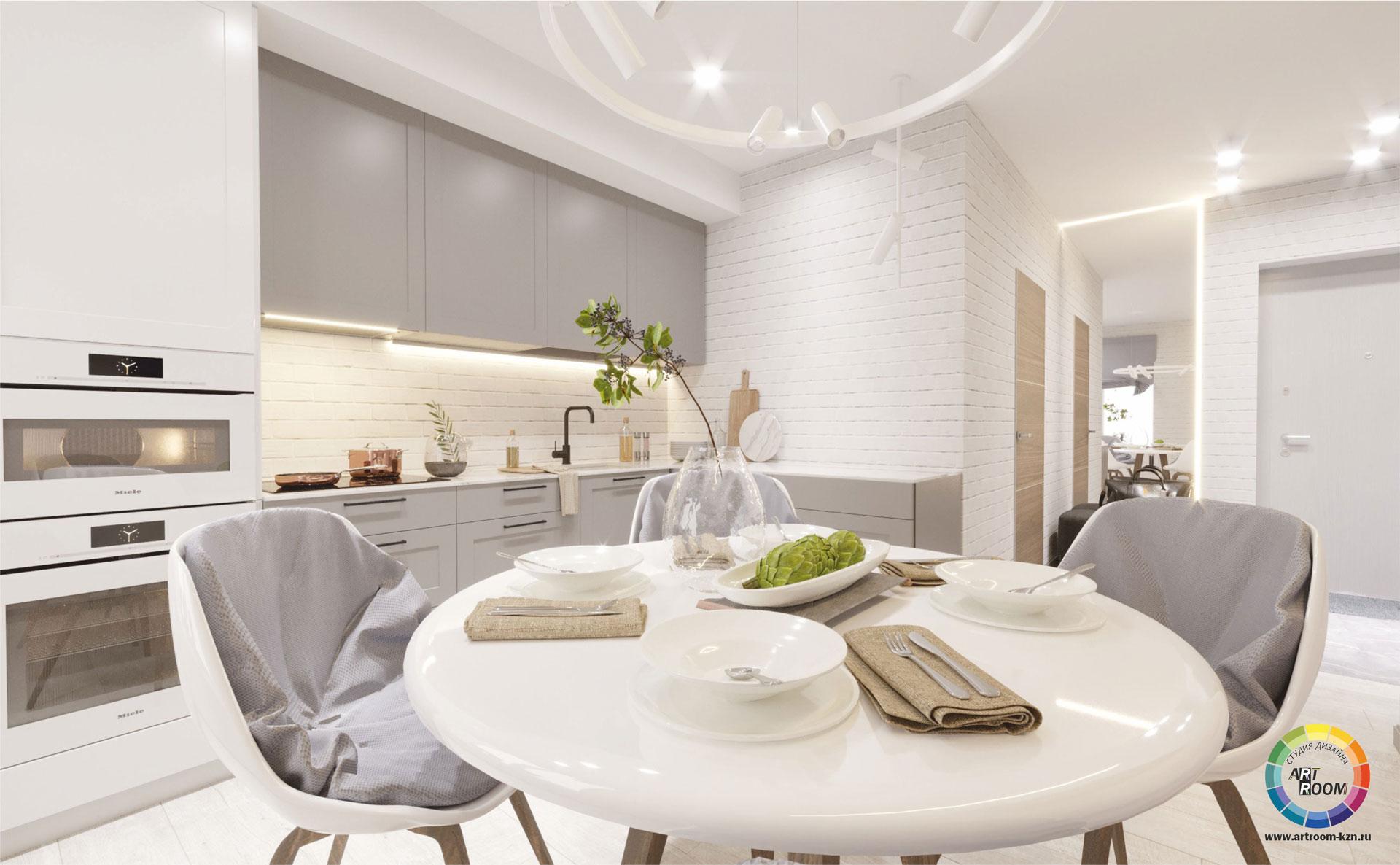гостиная-кухня-12