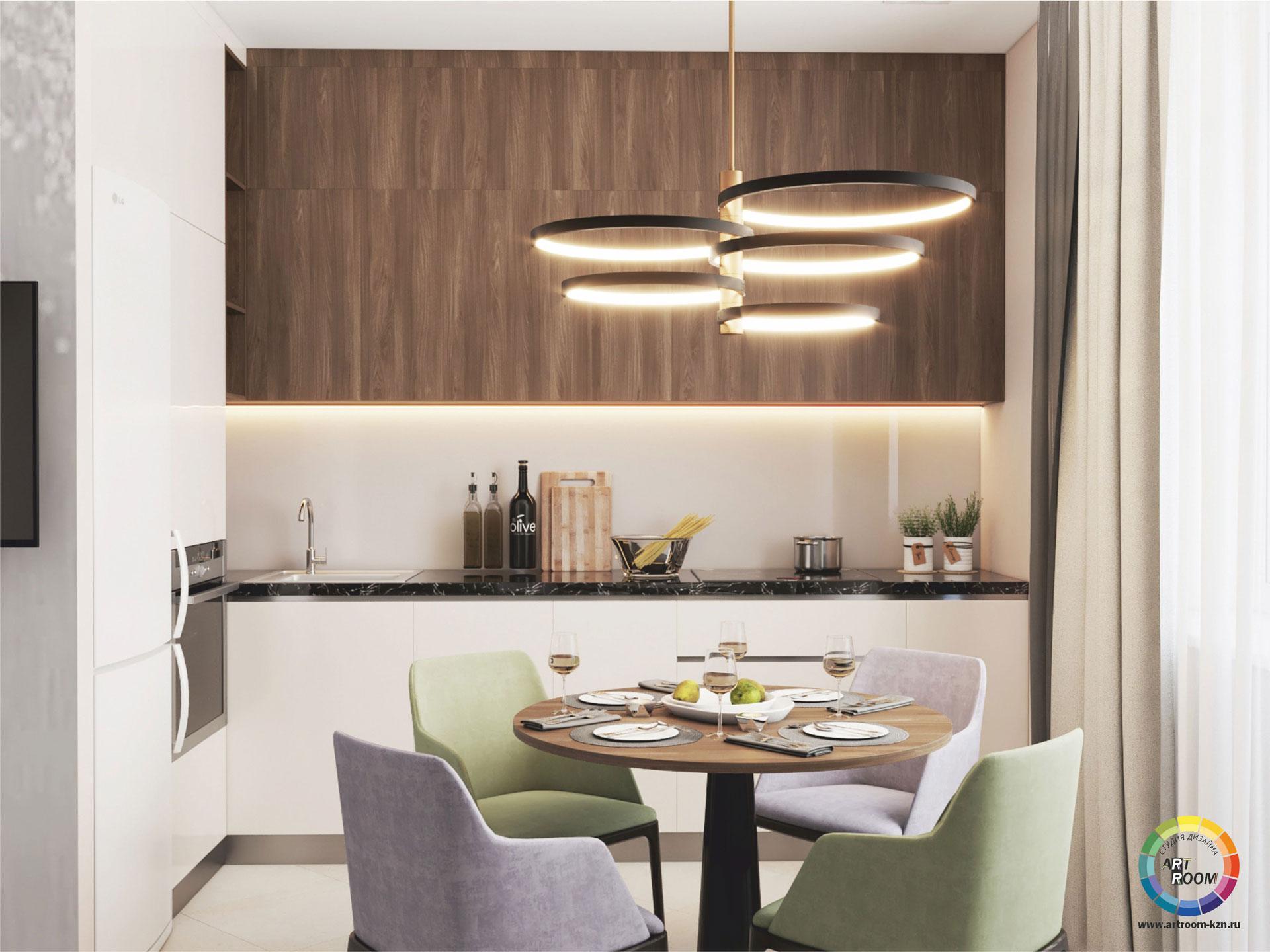 гостиная-кухня-7