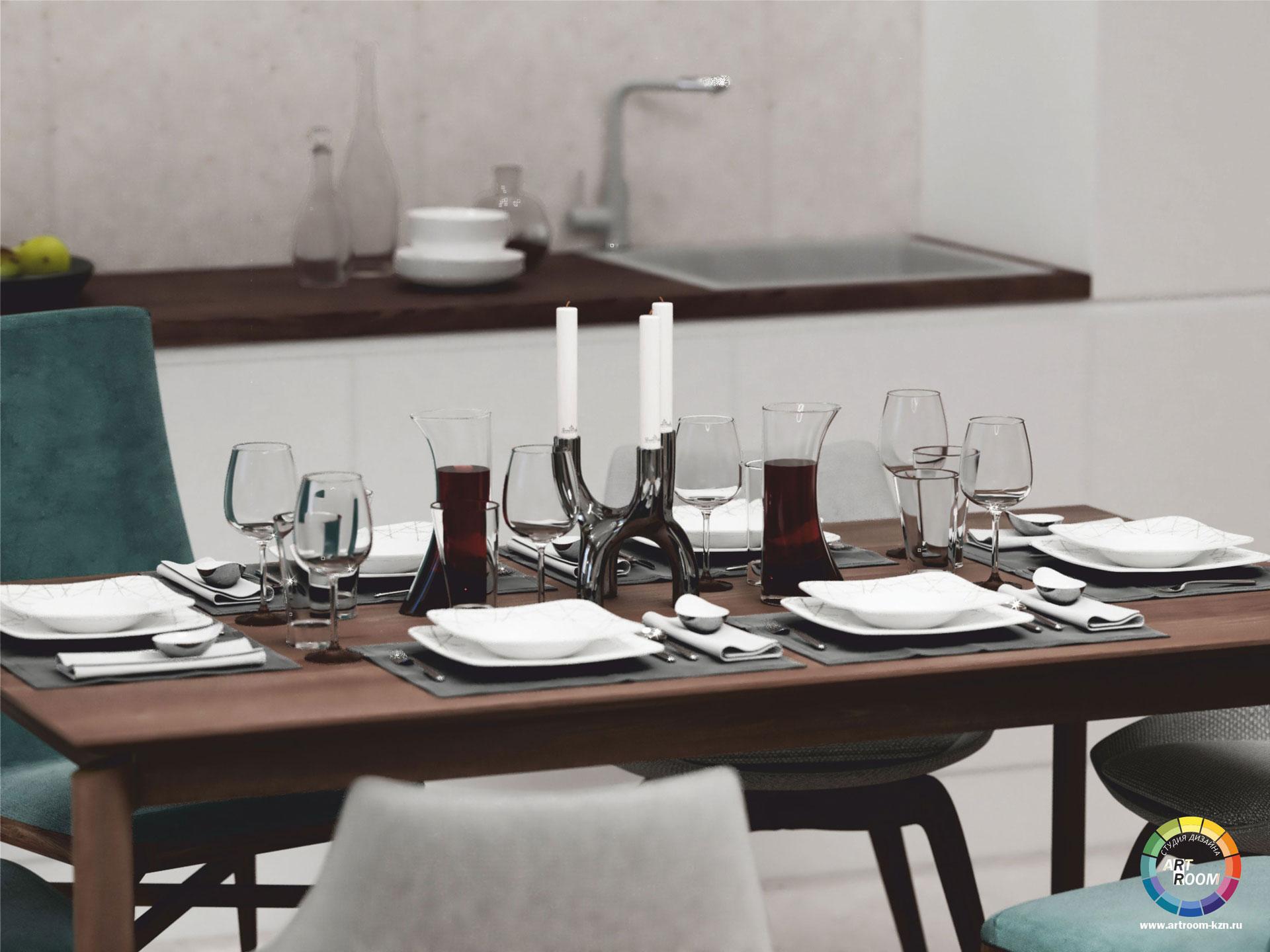 гостиная-кухня-8